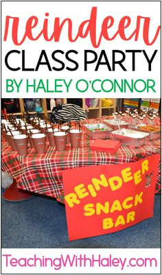 Classroom Reindeer Party Ideas by Teaching with Haley. I wanted to share some adorable ideas for your classroom Winter party! From Holiday cookie decorating ideas, reindeer ornaments to Reindeer antler hats. Fun Christmas and Holiday ideas for preschool, kindergarten, first grade, second grade, and more. Great for leading up to Christmas and the Winter break. Learn more Reindeer Antlers, Reindeer Ornaments, Christmas Fun, Holiday Fun, Holiday Ideas, Cookie Decorating Party, Decorating Ideas, Holiday Activities, Fun Activities