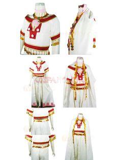 Tsubasa Princess Sakura  Cosplay Costume