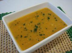 Caldo de Abóbora com Carne Seca - Veja como fazer em: http://cybercook.com.br/caldo-de-abobora-r-11-43429.html?pinterest-rec