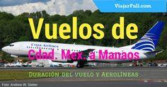 Vuelos de Ciudad de México a Manaos