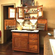 Photo: from the book, America's Kitchens | thisoldhouse.com | from The American Kitchen Through the Ages