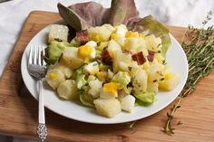 Potato Salad with Bacon, Egg, and Tarragon Dressing | Big Girls Small Kitchen