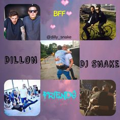 DJ SNAKE and DILLON FRANCIS