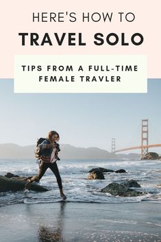 solo travel tip How to rock your first solo trip as a women if none of your friends can come on your next adventure! Solo Travel Tips, Travel Advice, Travel Guides, Travel Hacks, Tips For Traveling Alone, Travelling Tips, Places To Travel, Travel Destinations, Voyager Seul