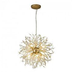 Cosmos Pendant Matte Gold - Modern - Pendants - Lighting & Fans