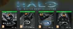 Halo: The Master Chief collection brings Halo 1,2,3 & 4 together on Xbox One #xboxone #gaming #halo #halo5