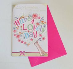 Daughter Birthday Cards New Range 40th Birthday Cards, Birthday Cards For Women, Stationery, Daughter, Range, Amazon, Cookers, Amazons, Paper Mill