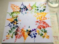 Sluníčko z otisků Home Crafts, Diy And Crafts, Crafts For Kids, Arts And Crafts, Autumn Painting, Autumn Art, Autumn Activities For Kids, Preschool Activities, Mountain Crafts
