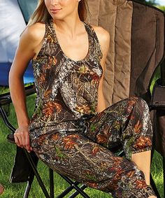 Another great find on #zulily! Mossy Oak® Break-Up® Racerback Tank - Plus Too #zulilyfinds