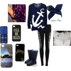 """""""Anchor"""" by terah-jack on Polyvore"""