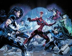 Titans Rebirth - Brett Booth