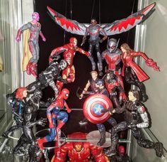 Civil War (MCU) - Prodigeek's Action Figure Collection