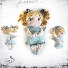 Little Miss Hope amigurumi pattern by Miss Hook