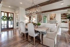"""The pictures of the Southern Living Design House in Little Rock Arkansas were released this week. The sisters who write the blog """"Providence Design"""" were the decorators who made this h…"""