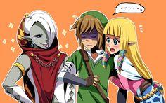 Zelda: Skyward Sword casting - Ghirahim will always go between those two