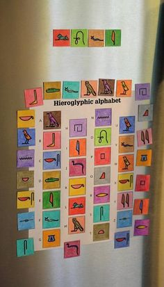Teach kids about ancient Egyptian hieroglyphics, or have them make up their own glyphs!