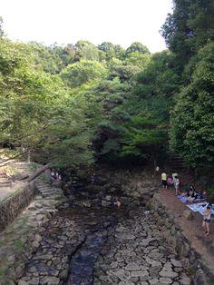 府中町のみくまり峡。広島市内中心部から車でわずか30分足らずで、手軽に自然が満喫できます!