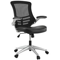 Office Chair Ergonomic Mesh Furniture Padded Arms Seat Tilt Adjustable Height #Unbranded #ExecutiveManagerialChair