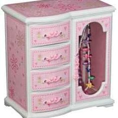Little girls jewelry boxes are a wonderful gift which is very well received by a young girl. They are wonderful birthday, Christmas or special. Little Girl Jewelry, Girls Jewelry Box, Robin Girl, Ballerina Jewelry Box, Fairy Box, Big Girl Rooms, Kids Rooms, Cool Journals, Little Fashionista