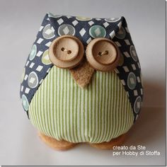Owl from Hobby di Stoffa