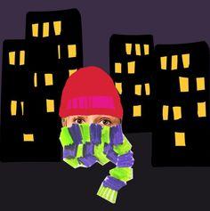 Journalist & artist Rakel Liekki is trying, what it's like to be homeless in Helsinki Finland. More on Kioski later this week. Quick illustration made by Riikka Kurki / Yle Kioski