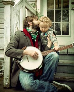 so play a song sweet music man ♪ ~ I grew up around banjo music, my daddy played.