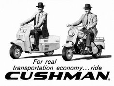 1959 Cushman scooters advertisement.