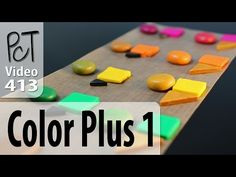 Polymer Clay Color Mixing Trick - Color Plus 1 Method - YouTube