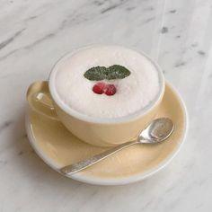 pinterest // @reflxctor sweet cherry coffee