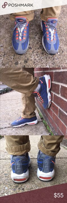 Air Max 95' Great pair of 95's! Have some scuffs and signs of wear. Nike Shoes Sneakers