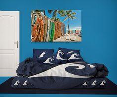 7961a7627 Surfer Bedding Blue Epic Wave Eco Friendly Comforter Set
