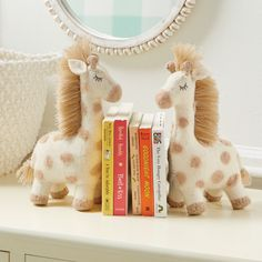 Find these giraffe book ends and more for your nursery at mudpie.com! #mudpiegift #nurserydecor #baby #safarinursery #giraffe Safari Nursery, Nursery Decor, Mud Pie Gifts, Baby Boy Gifts, Rocking Chair, Cribs, Giraffe, Picture Frames, Bookends