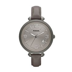 Wanted.    FOSSIL® Watch Collections Heather Watches:Women Heather Leather Watch - Grey ES3134