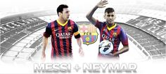 Messi + Neymar