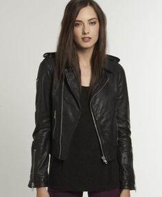 118.55$  Buy now - http://viwck.justgood.pw/vig/item.php?t=qr41znk2264 - Leather Motorcycle Jacket Women's Real Lambskin Soft Leather Biker Jacket WJ273