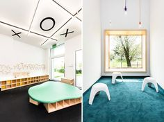The most incredible looking childcare centres around the world Space Interiors, Childcare, Around The Worlds, The Incredibles, Interior Design, Architecture, Outdoor Decor, Room, Inspiration