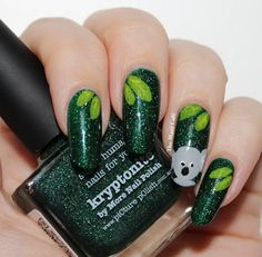 The Mani Café: piCture pOlish Kryptonite and a Koala!