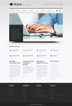 Business Lead Joomla Template by Html5 Web Templates