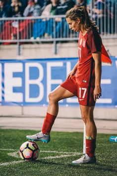 Tobin Heath || SheBelieves Cup USAvGER (03.01.2017)