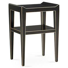 Adele Side Table, Ebony$1850