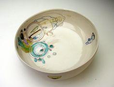 Ceramic bowl + doodle sketch = awesome