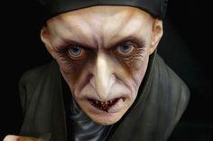 Nosferatu Life Size Bust 1 1BLACK Heart Models Special Version Vampire 2 of 2 | eBay