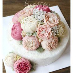 꽃.봄 9월 수강생 모집중! 꽃피는봄날 케이크, BOMNAL CAKE #Riceflowercake#Bomnalcake#꽃피는봄날…
