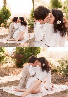 Loving this romantic engagement session!