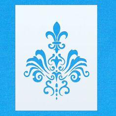 Website: www.PongoPanda.com #damaskpattern #damask #damaskstencil #shabbychic #shabbychicstencil #vintage #shabbychic #mylar #mylarstencil #airbrush #airbrushstencil #painting #wallart #stencil #diy #art #crafts #interiordesign #bedroomdecor #bedroomdesign #bespokedesign #kidsbedroomdecor #kidsbedroomdesign #stencilzone #pongopanda