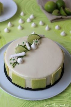 You searched for Entremets citron vert - Rock the Bretzel Beaux Desserts, Sweet Desserts, Sweet Recipes, Dessert Recipes, Patisserie Design, Modern Cakes, Pastry Art, Beautiful Desserts, Creative Cakes