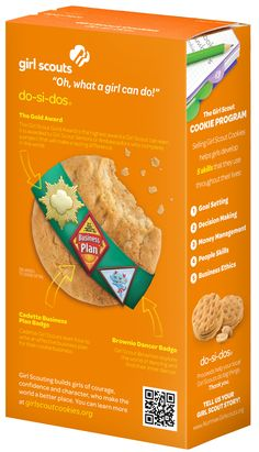 Do-Si-Dos new box! Girl Scouts NorCal's next Cookie Program will be Feb. 9-March 16, 2014! Stay tuned to www.iLoveCookies.org for more!