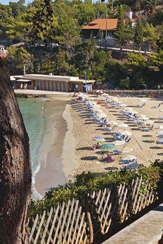 Argostoli beach, Kefalonia Island
