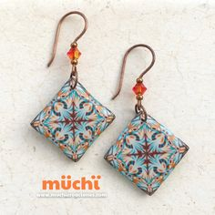 polymer clay earrings fimo