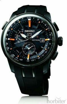 Seiko has been putting serious resources into the success of their Seiko Astron GPS Solar watch collection that they debuted about two years ago. Amazing Watches, Beautiful Watches, Cool Watches, Dream Watches, Sport Watches, Male Watches, Army Watches, Stylish Watches, Luxury Watches For Men